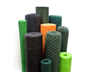 Siatki ogrodzeniowe plastikowe