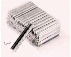 Klipsy aluminiowe do klipsownicy ręcznej