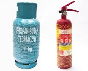 Siatki na butle gazowe oraz gaśnice