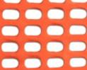 Siatka ostrzegawcza pomarańczowa