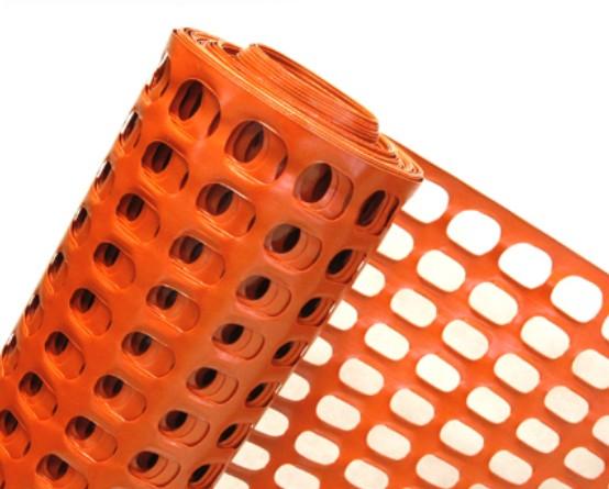 Siatka ostrzegawcza pomarańczowa - rolka