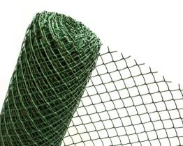 Siatka plastikowa ogrodzeniowa oczko rombowe