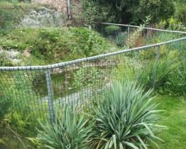 Siatka kontenerowa - tymczasowe ogrodzenie