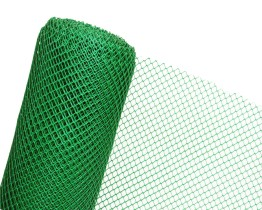 Siatka plastikowa zielona ogrodzeniowa w rolce