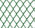Siatka plastikowa oczko rombowe zielona